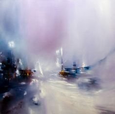 "Saatchi+Art+Artist+Alison+Johnson;+Painting,+""Twilight""+#art"