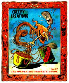 Creepy Creations No.27 - The Fork Eating Spaghetti Spook