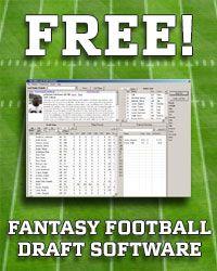 Free Fantasy Football Draft Software