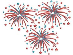 Fourth of July Machine Embroidery Design Fourth of July Embroidery Fireworks Embroidery Designs Patriotic Embroidery Designs DST for Women Dot Art Painting, Rock Painting Designs, 4th Of July Fireworks, Fourth Of July, Applique Designs, Machine Embroidery Designs, Buttercream Designs, Fireworks Background, Create Name