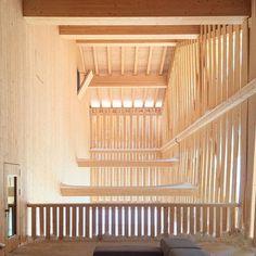 Bergstation Chäserrugg, CH-Toggenburg by Herzog & de Meuron | Built in 2015 | #chäserrugg #toggenburg #churfirsten #herzogdemeuron #herzoganddemeuron #summitstation #architecture #archilovers #architectureporn #design #modern #wood #mountain #snow
