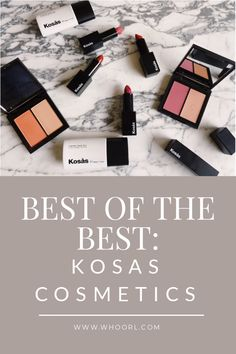 From the inception of the brand in 2015, I have been borderline obsessed with Kosas Cosmetics. First came the lipsticks, which as you will soon see, possess some kind of magic fairy dust because every single one in the line works with my complexion. Yeah, let's stop and think about that for a sec – have you ever encountered a line in which everyshade worked on your skin tone? #makeup #beauty #best