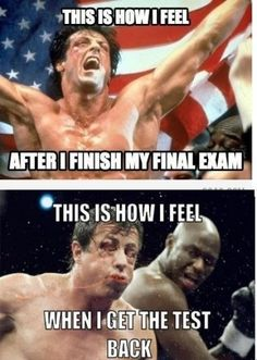 After I Finish My Final Exam!