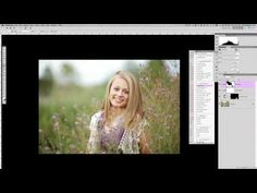 How to Edit Light Airy Images with photoshop - YouTube