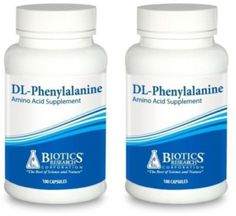 Biotics-Research-DL-Phenylalanine-100-Capsules-2-PACK-5221-Exp-9-18-SD