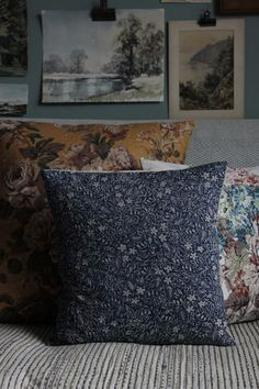 Linen Garden Cushion 16