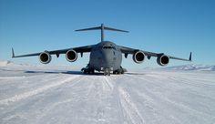 Pegasus Runway, Antarctica.