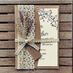 Tinkerbell – Istanbul Hochzeitseinladung – 2019 – Lace Diy – Invitation Ideas for 2020 Wedding Invitation Trends, Country Wedding Invitations, Rustic Invitations, Wedding Stationery, Handmade Wedding Invitations, Lavender Wedding Invitations, Invitation Ideas, Invitation Templates, Tinkerbell