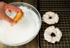 old fashioned doughnuts recipe | use real butter