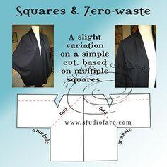Pattern Puzzle - Squares & Zero Waste