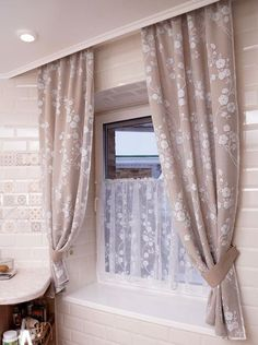Ideas For Kitchen Window Blinds Ideas Home Decor Kitchen Window Blinds, Blinds For Windows, Kitchen Curtains, Home Living Room, Living Room Designs, Home Curtains, Custom Drapes, Curtain Designs, Ideal Home