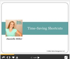 Good tips! This slideshow has over 30 Time-Saving Tips for using Google and Gmail.