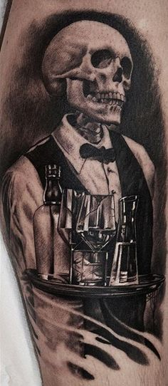 Death Waiter Tattoo