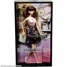 BRB Barbie sběratelská kolekce Look brunetka 699,-