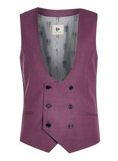 Photo 5 of Noose & Monkey Wine Suit Waistcoat