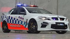 Supercharged HSV GTS is the most powerful Australian car to earn its police stripes. Australian Muscle Cars, Aussie Muscle Cars, Rescue Vehicles, Army Vehicles, Radios, 4x4, Holden Australia, Chevrolet Ss, Holden Commodore