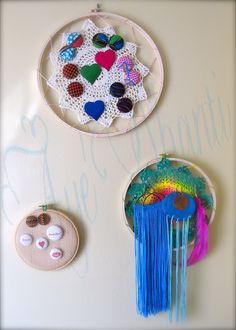 Aye' Shanti Design: D.I.Y. Crochet Jewelry Display