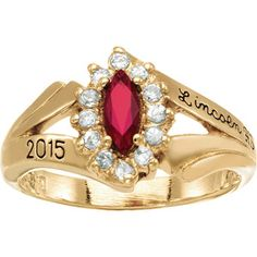 Keystone Girl's Marquis Fashion Class Ring, thinking about it.....