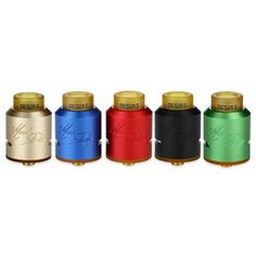 Luxurious rebuildable dripper tank Desire Mad Dog RDA