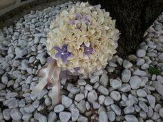 bridal bouquet, matrimonio, fiori di carta, swarovski