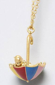 Disney Couture Jewelry The Pooh Collection Umbrella Necklace : Karmaloop.com - Global Concrete Culture