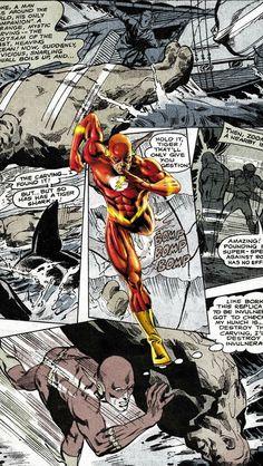 Flash Comics Iphone 5 Wallpaper