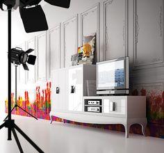 Salón Uno de 15 - Cuatro 04 - Living Room One of 15 - Cuatro 04