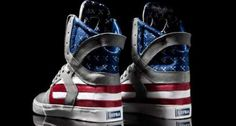 These Supra Flag Pack Skytop II Sneakers are Nationalist and Badass #Shoes #Footwear trendhunter.com