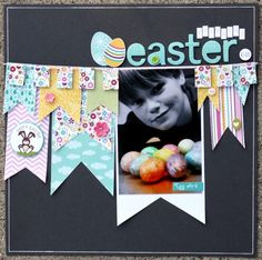 Coloring Easter Eggs *Brand new Bella Blvd Spring Flings and Easter Things** - Scrapbook.com