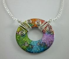 Washer pendant designed by Shawna Lane Creations. www.facebook.com/... by rose.toledo.167