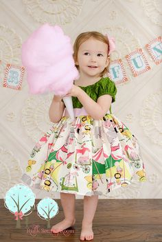 Circus Peasant Dress, Girl Peasant Top Dress, Multi Color, Girly Circus Top, Summer Dress Custom Children sizes 12m,18m,2,3, 4, 5, 6, 7, 8  Ask a Question $43.49 USD. USA