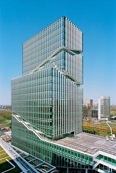 Mahler 4 Office Tower   Amsterdam, The Netherlands :: Rafael Vinoly Architects