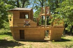 Davy Jones' Locker Pirateship Plan for Kids – Paul's Playhouses