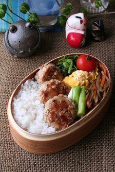 2012.04.05肉団子弁当