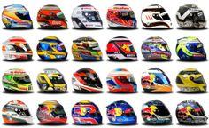 2013 Formula 1 drivers' helmets | YallaF1.com