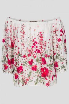 Květovaná Carmen halenka   ORSAY