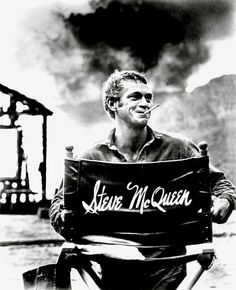 Steve McQueen (1930-1980). A great actor who died way too soon.
