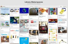 250+ Ideas for #Library #MakerSpaces #Make #DIY