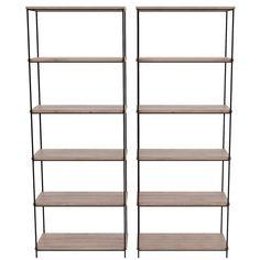 Straight Steel Shelves