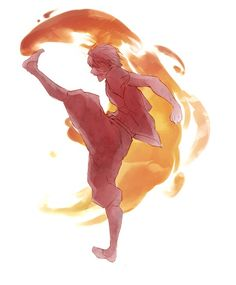 reminds me of azula's firebending move in the opening