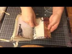 I like this video - sewing the signatures is finished by 25 minutes - - - Great tutorial on how to make a junk journal!! Very detailed instructions. Love it.