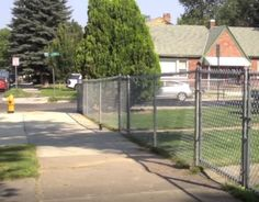 Chain link fence regulations  #link