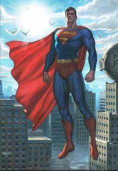 Superman by Peter Habjan Superman Artwork, Superman Wallpaper, Superman Comic, Batman, Superman Poster, Superman Stuff, Superman Man Of Steel, Superman Wonder Woman, Dc Comics Art