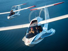 What It's Like to Fly—And Stall—In the Icon A5 Plane   WIRED