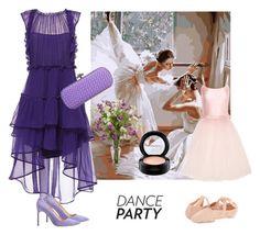 """Lilac"" by astellaatelier ❤ liked on Polyvore featuring MAC Cosmetics, Bloch, Alberta Ferretti, Manolo Blahnik, Ballet Beautiful and Bottega Veneta"