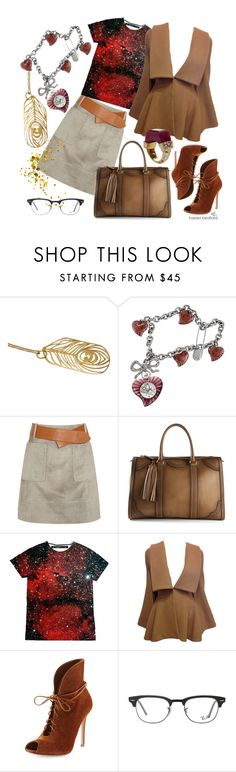 """""""Beautiful wooden things..."""" by harrietbedford ❤ liked on Polyvore featuring Harriet Bedford, Vivienne Westwood, Derek Lam, Gucci, Alexander McQueen, Gianvito Rossi, Ray-Ban, Jade Jagger, gold and instagram"""