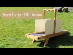 Grand Carpet Mill - furniture quality exercise treadmills for dogs!