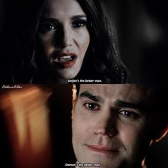 "#TVD 8x16 ""I Was Feeling Epic"" - Katherine and Stefan"