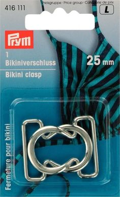 11e965b2826 Prym Metal Bikini & Belt Clasp Fastener Silver - each (416111) | eBay