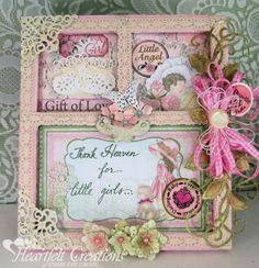 Heartfelt Creations | Little Girl Frame